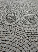 Cobblestone Pavement.