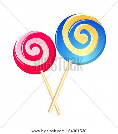 vector icon lollipop