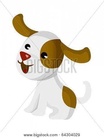 vector icon dog