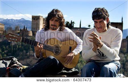 Flamenco Over Alhambra
