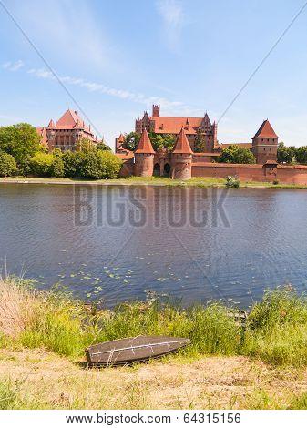 medieval castle in Malbork