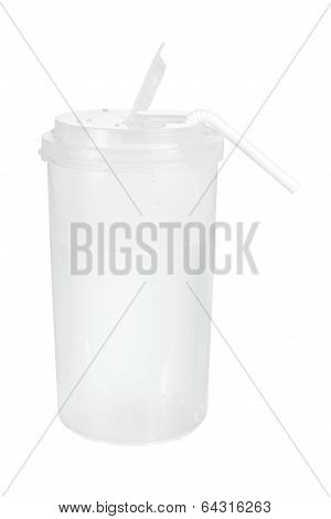 Tumbler Cup with Straw
