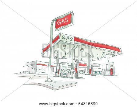 icon petrol station
