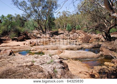 A Creek In Gondabooka National Park