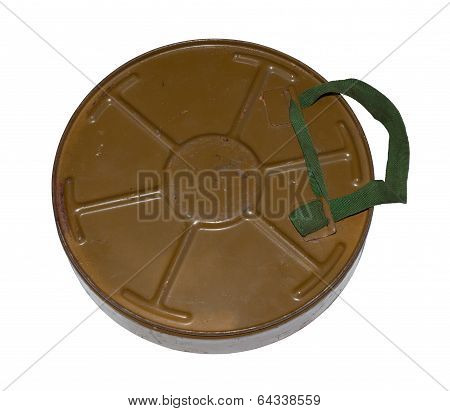 Antitank Mine. Back View