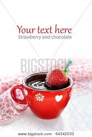 Strawberry Hot Chocolate