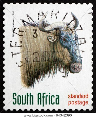 Postage Stamp South Africa 1998 Blue Wildebeest