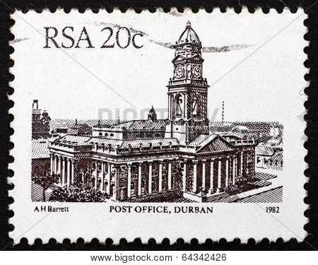 Postage Stamp South Africa 1985 Post Office, Durban