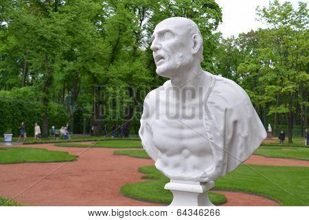 Statue Of Ancient Roman Philosopher Seneca