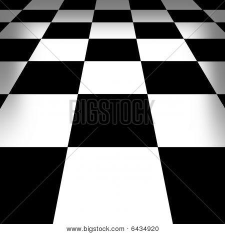 Illustration Of Chess-board