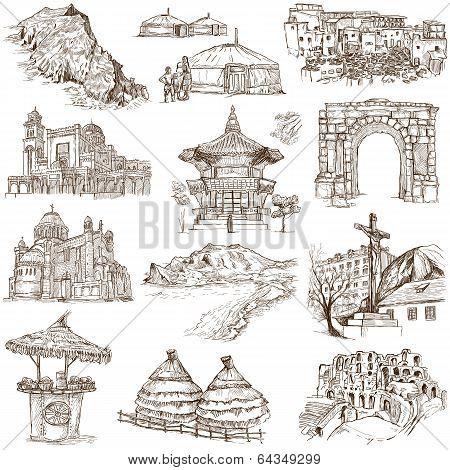 Famous places and architecture