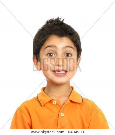Boy Surprised