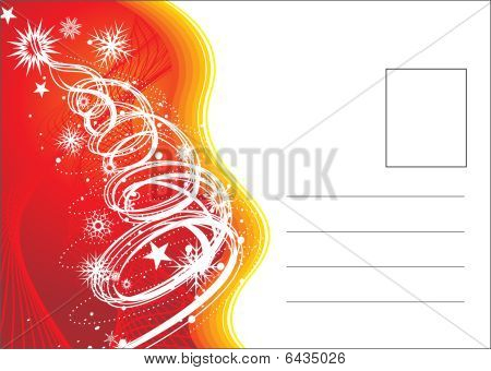 christmas post card