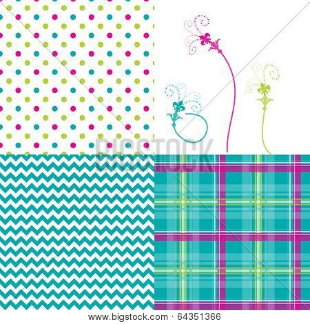 4-patterns-chevron-plaid-dots-flowers