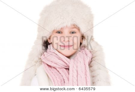 Girl In Winter Hat