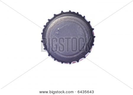 Close Up Of A Beer Bottle Cap