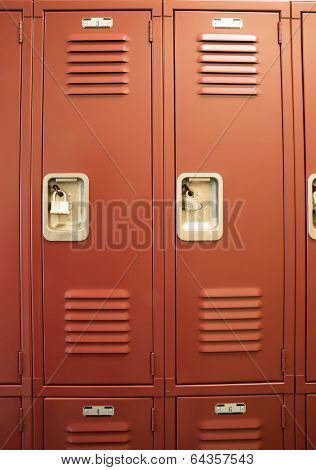 Student Lockers University School Campus Hallway Storage Locker College
