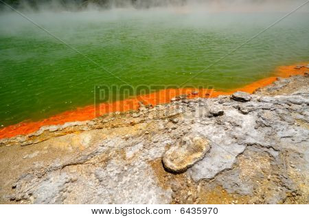 Edge of the Champagne Pool