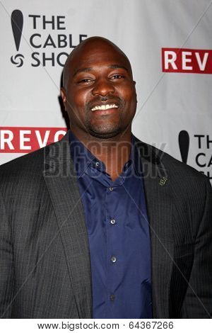 LOS ANGELES - APR 30:  Marcellus Wiley at the NCTA's Chairman's Gala Celebration of Cable with REVOLT at The Belasco Theater on April 30, 2014 in Los Angeles, CA