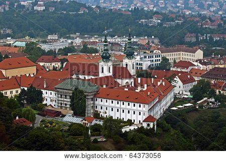 View On Strahov Monastery