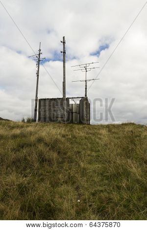 Derelict Television Repeater Station.