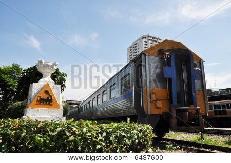 Train Anchor Symbol Garden