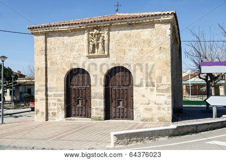 Chapel Of The Santo Cristo Del Humilladero In Pesquera De Duero