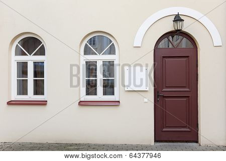 Doors And Two Windows