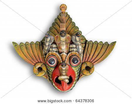 Cobra Devil Mask From Sri Lanka