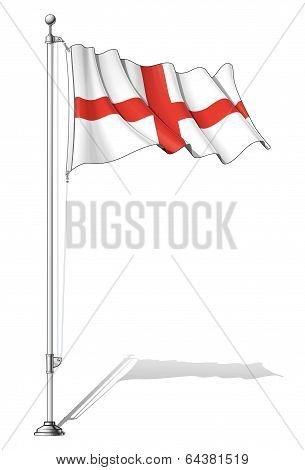 Flag Pole England