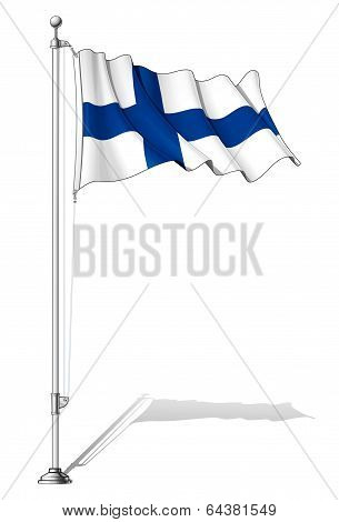 Flag Pole Finland