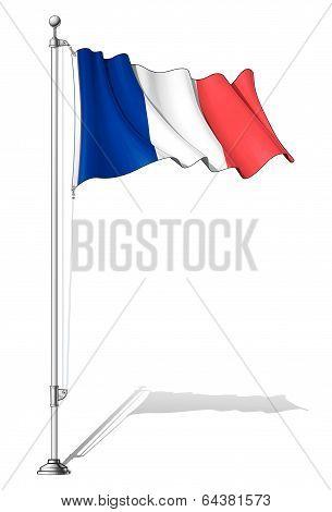 Flag Pole France