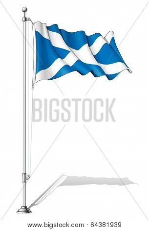 Flag Pole Scotland.