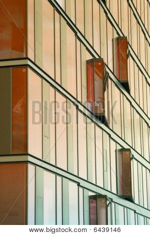 Close Up Of Office Building