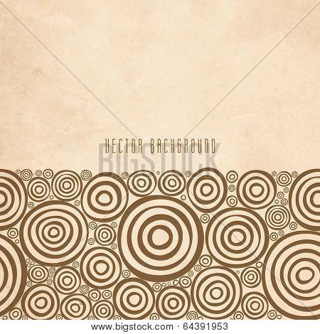 Retro ornamental border