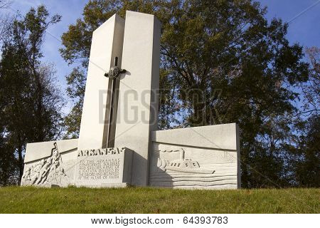 Arkansas Monument in Vicksburg National Military Park
