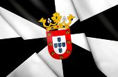 stock photo of ceuta  - This is an illustration of flag of Ceuta  - JPG