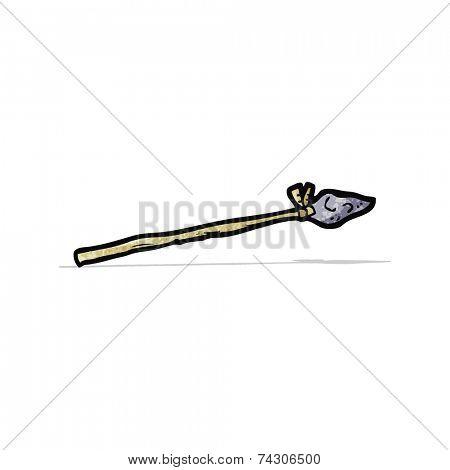 cartoon tribal spear