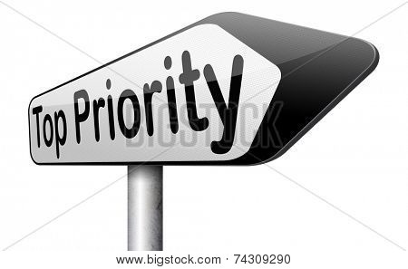 top priority important very high urgency info lost importance crucial information  act now or never