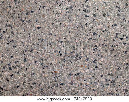 Gray Terrazzo Floor