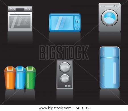 kitchen equipment icons