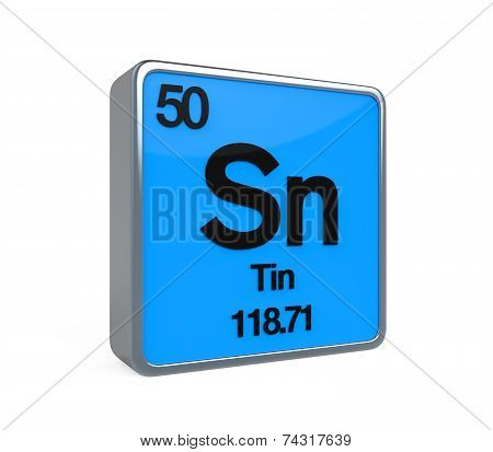 Tin Element Periodic Table