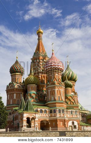 Vasily's Cathedral Blissful