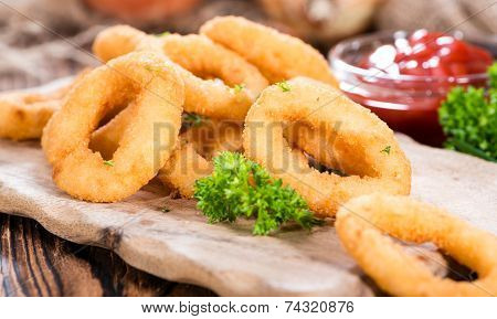 Fresh Made Onion Rings