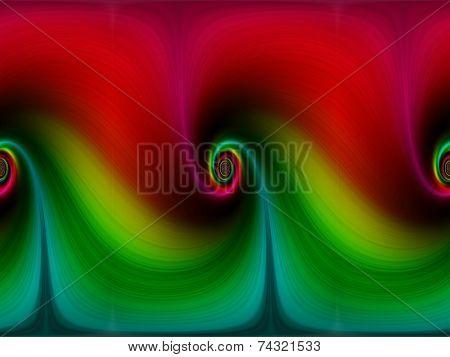 background, spiral effect