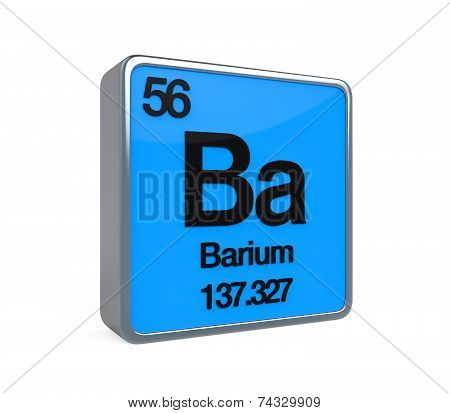 Barium Element Periodic Table