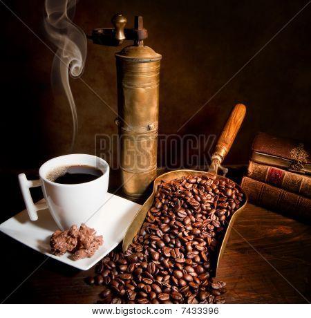 Vintage koffie