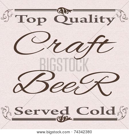 Top Quality Craft Beer