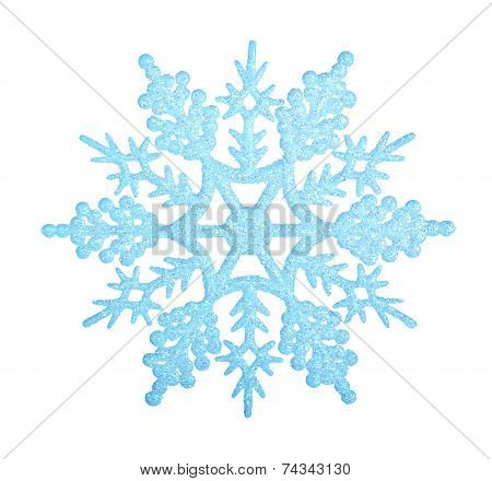 Blue Snowflake.