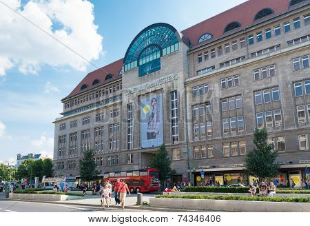 Shopping Mall In Berlin